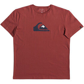 Quiksilver M And W SS Tee Men Brick Red